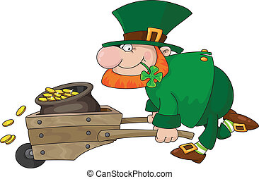 leprechaun - illustration of a leprechaun