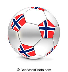 Soccer Ball/Football Norway - shiny football/soccer ball...
