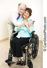 mûrir, couple, -, incapacité