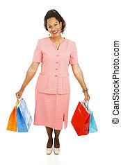 Happy Shopper - Full Body