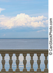 Sea balustrade