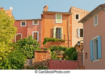 Provencal village of Roussillon