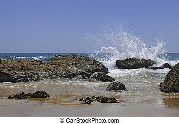 Southern California Beach Scene