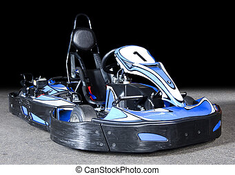 Go Kart - Photo of a modern Go-Kart in perspective