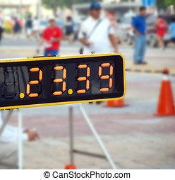 Sporting Event Timer - A time keeping device at a local...