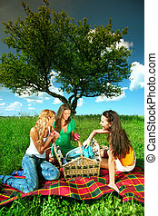 girlfriends on picnic - very fun girlfriends on picnic