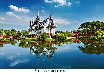 Sanphet Prasat Palace, Thailand - Sanphet Prasat Palace,...
