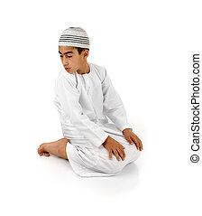 Islamic pray explanation full serie Arabic child showing...