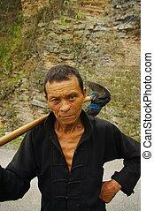 Hmong, étnico, Campesino