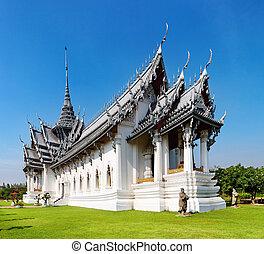 タイ,  prasat, 宮殿,  sanphet
