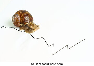 business - snail slow - snail slow business chart