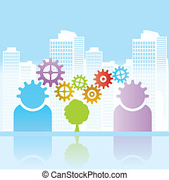 Business, urban and environment
