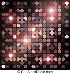 flashing lights - Circles geometric pattern and flashing...