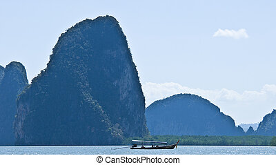 Phang Nga - part of the beautiful Phang Nga Bay Marine Park