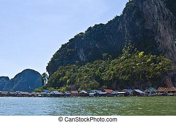Phang Nga - part of the beautiful Phang Nga Bay Marine Park