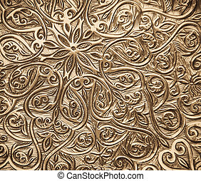 background with oriental ornaments - Highly detailed...