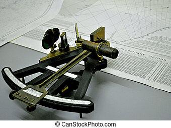 A Navigators Sextant - A Sextant for Navigation