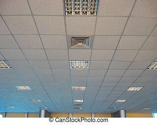 plafond, aérien