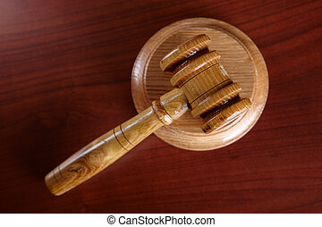 Judges Gavel - Judges wooden gavel