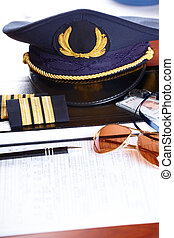 Professional airline pilot equipment - Professional airline...