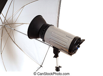 Photographic monolight for portraits - Photographic...