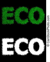 Eco made of Grass