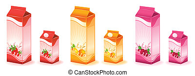 milky products with fruit