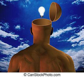 Open up idea