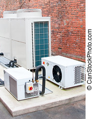 Air Conditioning Unit - Photo of a modern air conditioning...