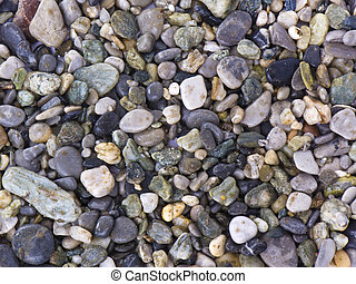 Rocks - A lot of stones for mosaics used as background