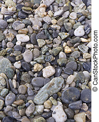Stones - A lot of stones for mosaics used as background