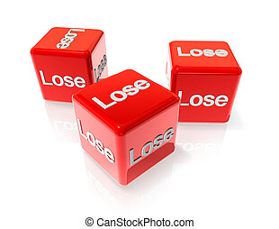 Lose red dices