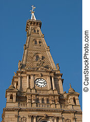 Halifax Town Hall Tower - Tower of Halifax Town Hall a...