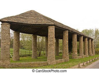 Pillared Barn - A Stone Built Dutch Barn at Wentworth...