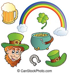 St Patricks day collection 3 - vector illustration