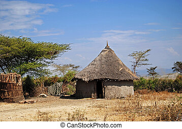 Ethiopian hut - Traditional hut in Ethiopia