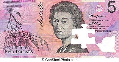 Australian Five Dollar Note