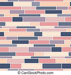 Seamless wall pattern