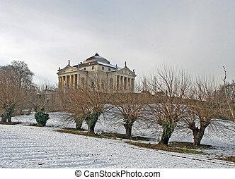 Villa Capra La Rotonda villa that was built by the architect...
