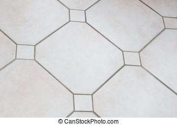 Floor Tiles - Photo of a beige conservatory tiled floor