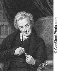 William Wilberforce 1759-1833 on engraving from the 1800s...
