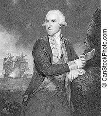 Samuel, almirante, capuz