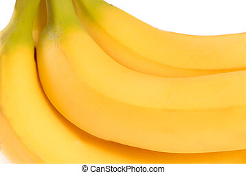Bunch of ripe delicious yellow bananas - Bunch of delicious...