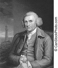 John Smeaton 1724-1792 on engraving from the 1800s The...