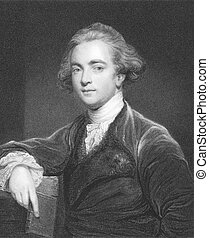 William Jones (1746-1794) on engraving from the 1800s....