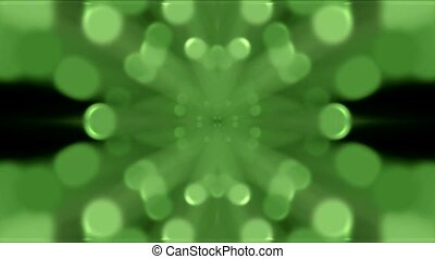 green light shaped pattern,Flower