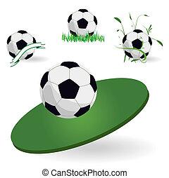 Emblem of football