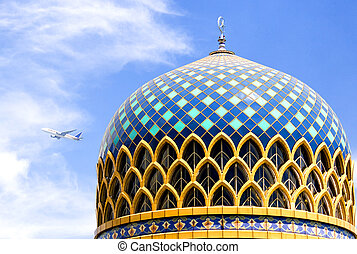KLIA Mosque - The beautiful Kuala Lumpur International...