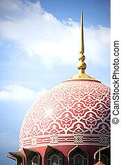 Putrajaya Mosque - An amazingly beautiful mosque in...