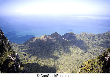 Langkawi Island Mountains and Seas - View of the mountain...